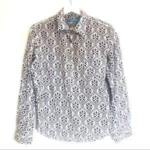 Tara Michelle Stained Glass Button Up Pullover